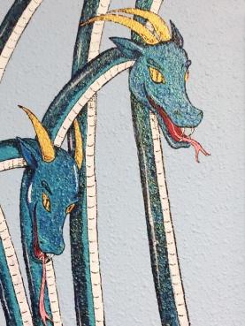 Closeup of Scylla.